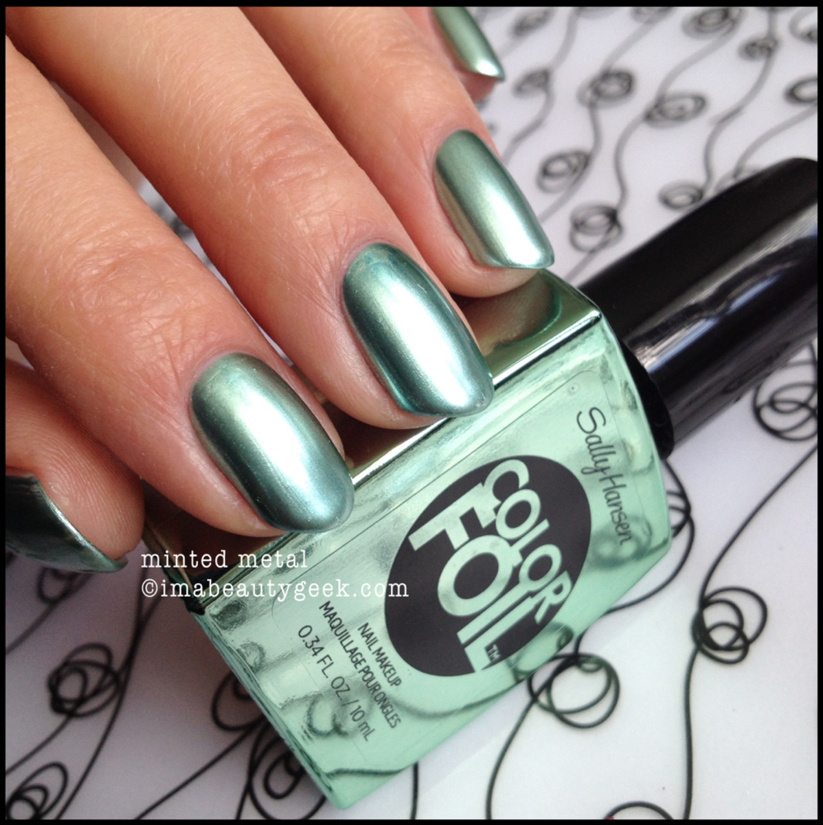 Sally Hansen Color Foil Minted Metal