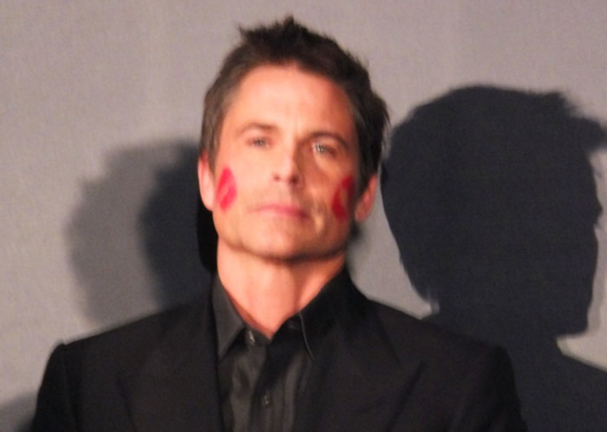 Rob Lowe, host of the 2012 P&G Beauty & Grooming Awards in Toronto