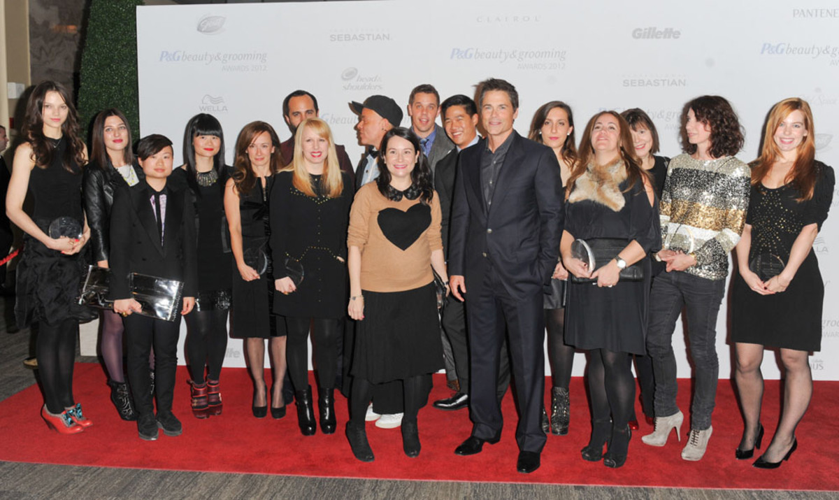 P&G Beauty & Grooming Award-winners with Rob Lowe in Toronto