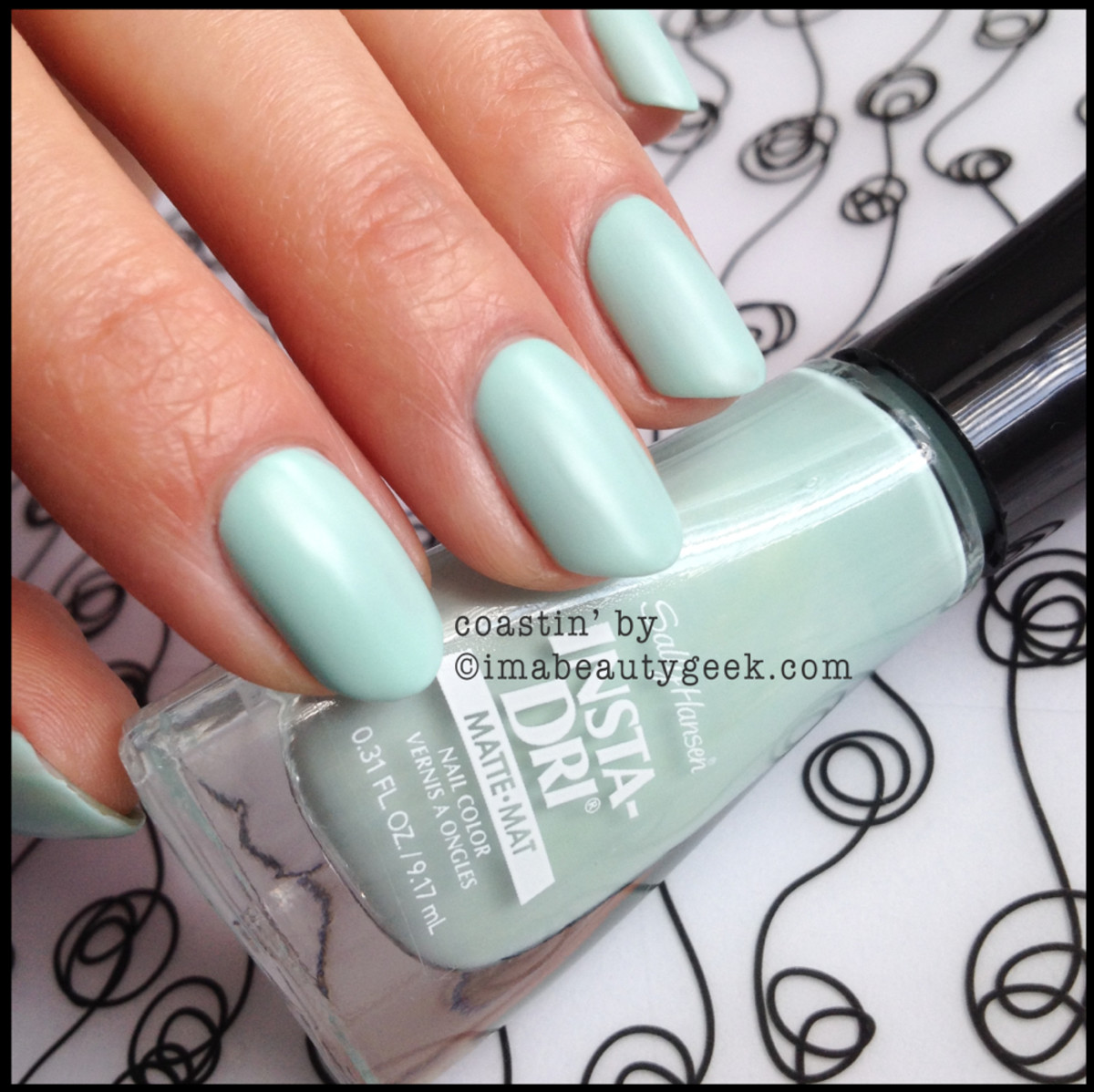Sally Hansen Coastin By Insta Dri Matte