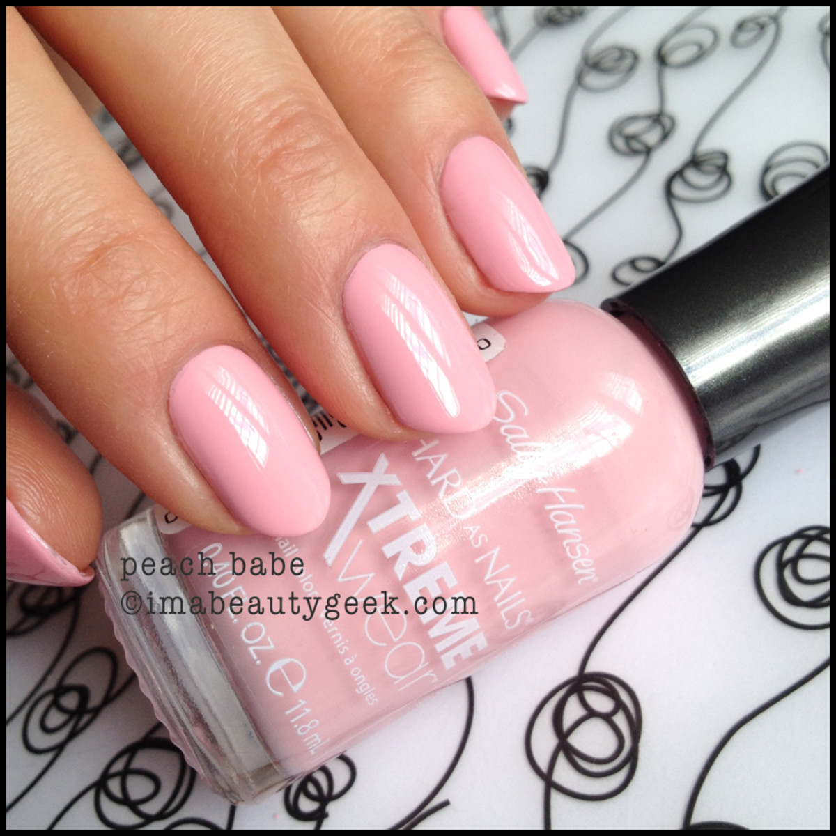 Sally Hansen Peach Babe Xtreme Wear