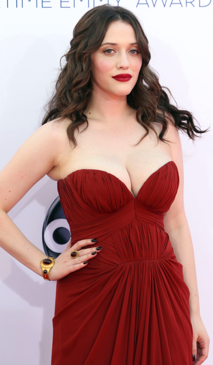 Kat Dennings_OPI Lincoln Park_red carpet