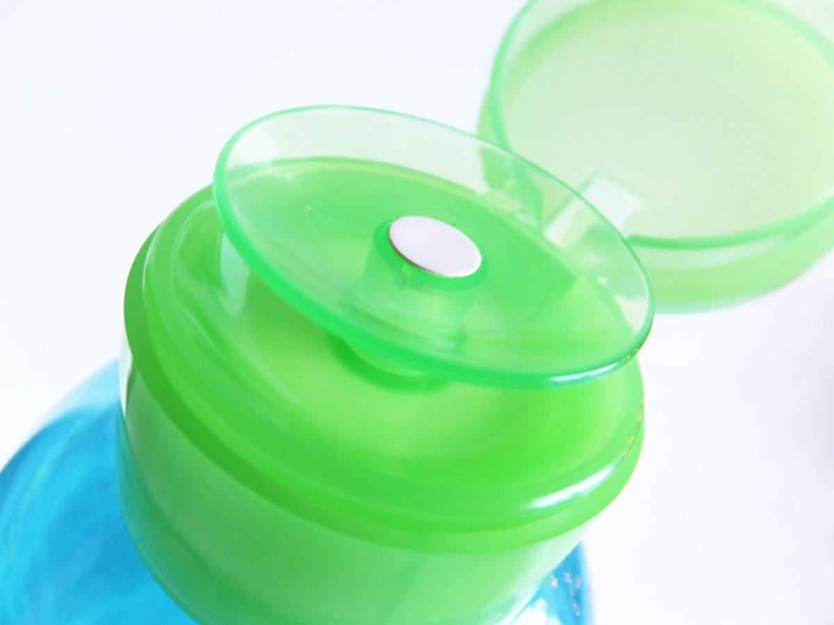 new Bioderma cleanser lid