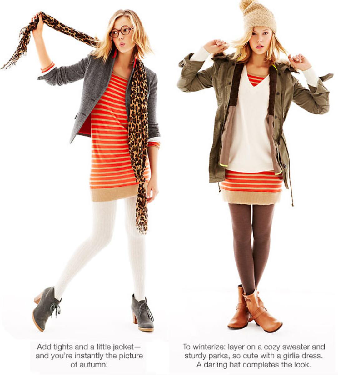 GAP dress advice 2 and 3