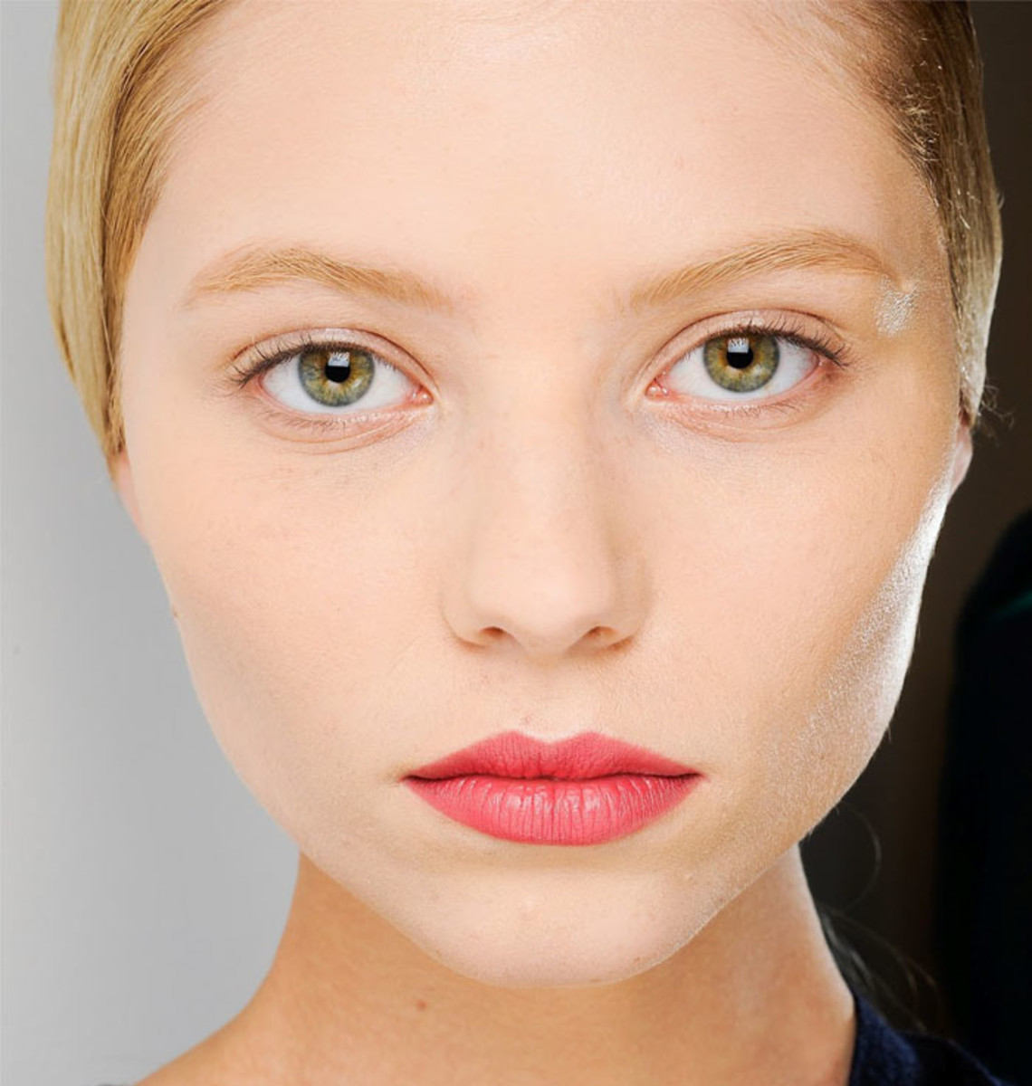Brow bleaching: this matchy-matchy option should maybe stay on the runway.