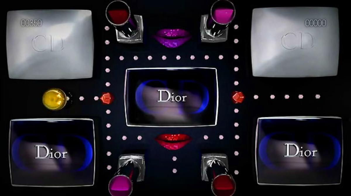 Dior Holiday video screen grab