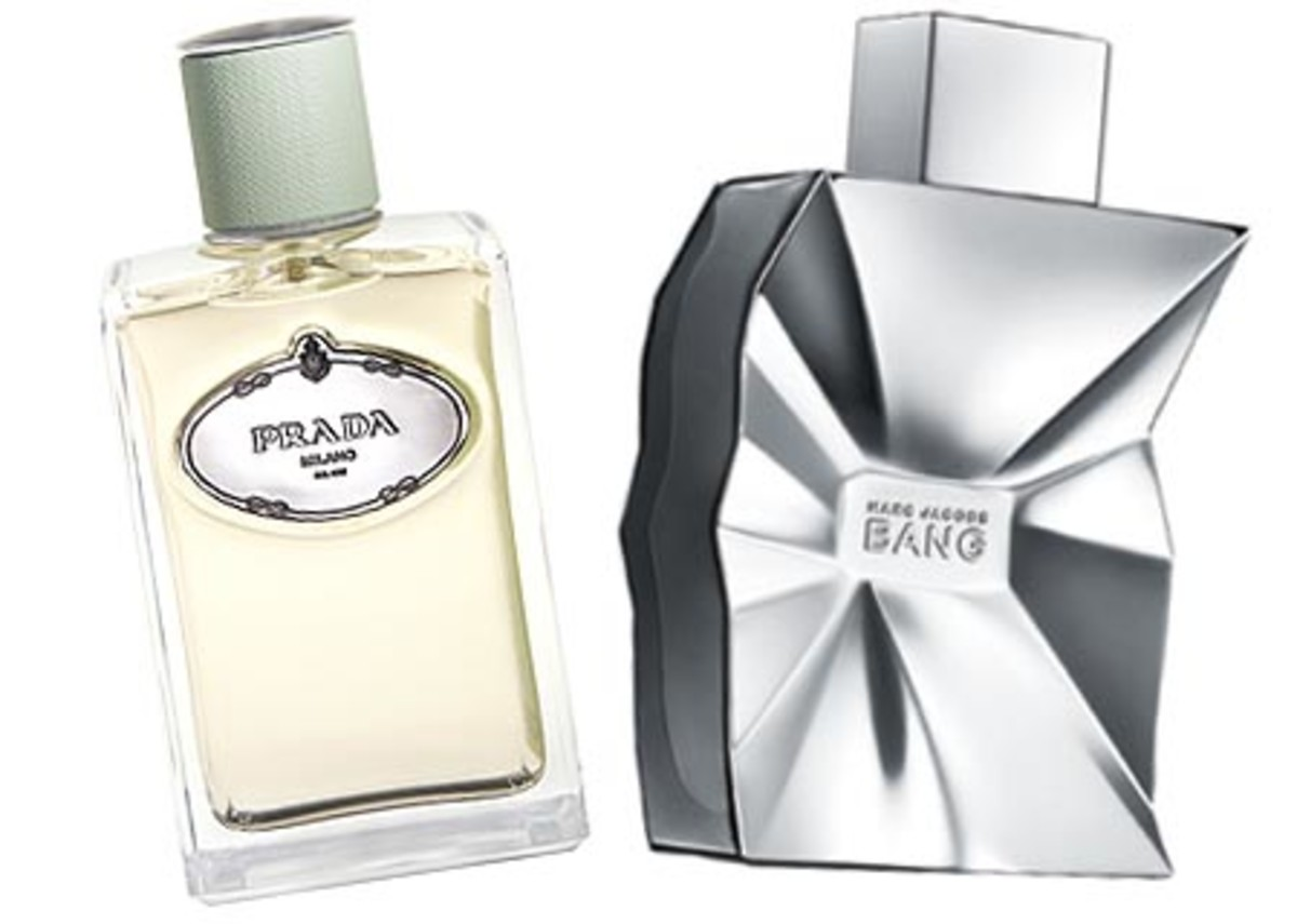Prada Infusion d'Iris _ Marc Jacobs Bang