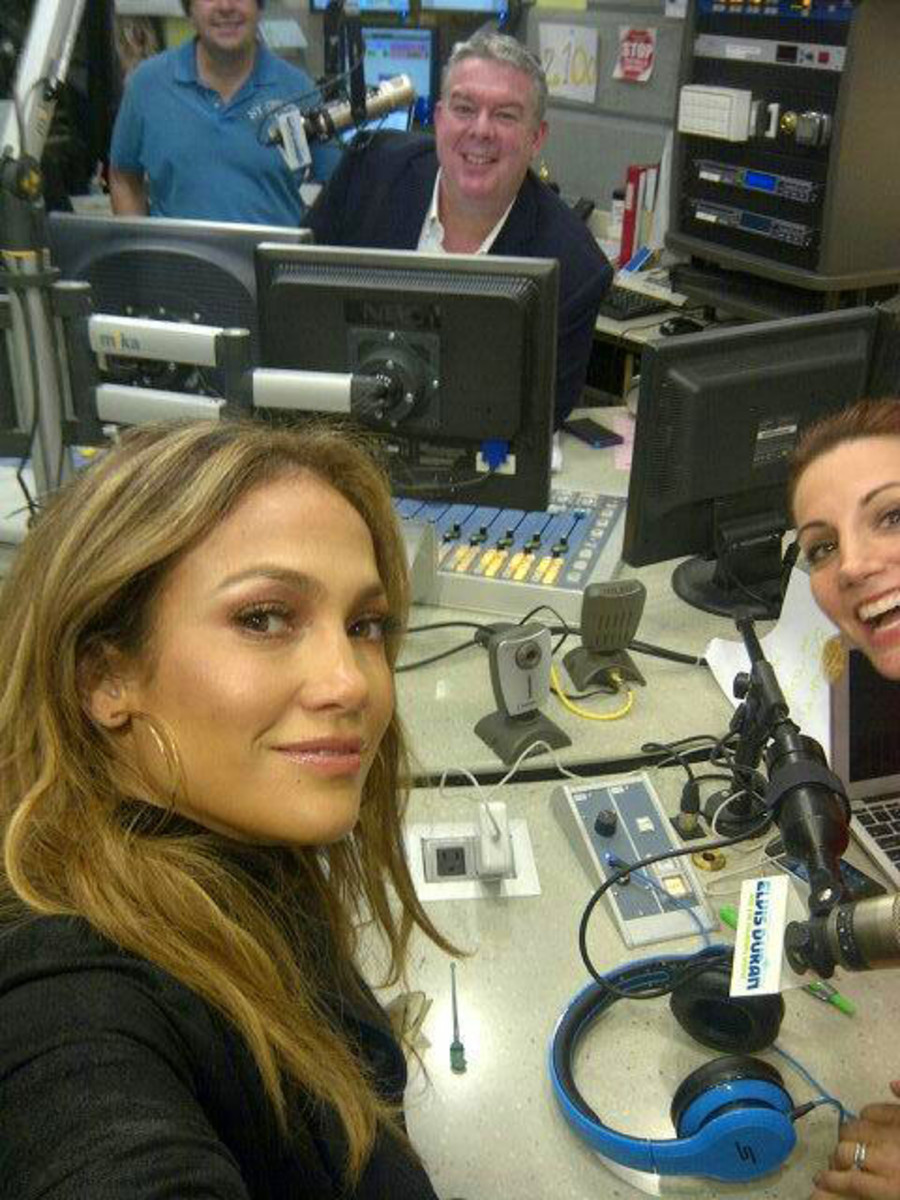 JLo_Live it Up Premiere_Elvis Duran show_May 2013