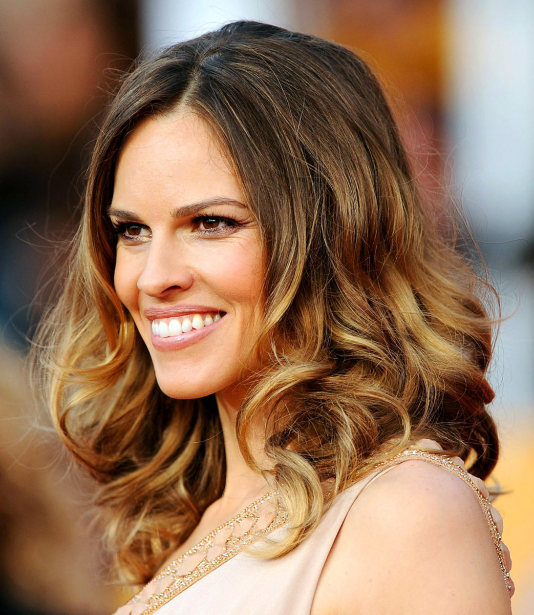 Baby ombre how to diy ballyage or balayage highlights at home hilary swank solutioingenieria Choice Image