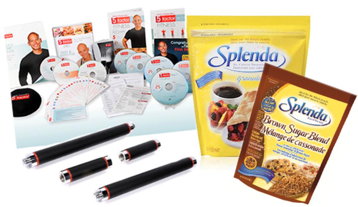 Harley Pasternak Splenda prize pack