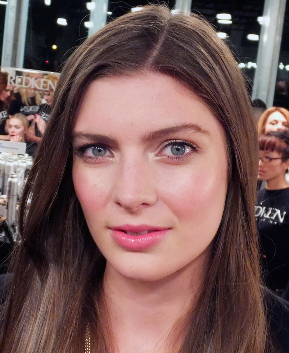 Rich Girl Beauty_David Dixon makeup_WorldMastercardFashionWeek_Maybelline
