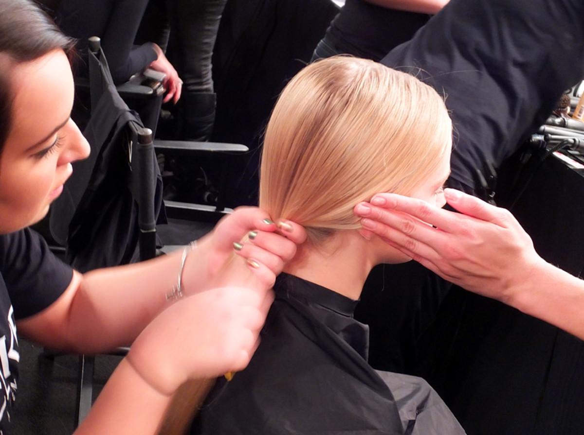 Rich Girl Beauty_David Dixon_World Mastercard Fashion Week_Redken hair