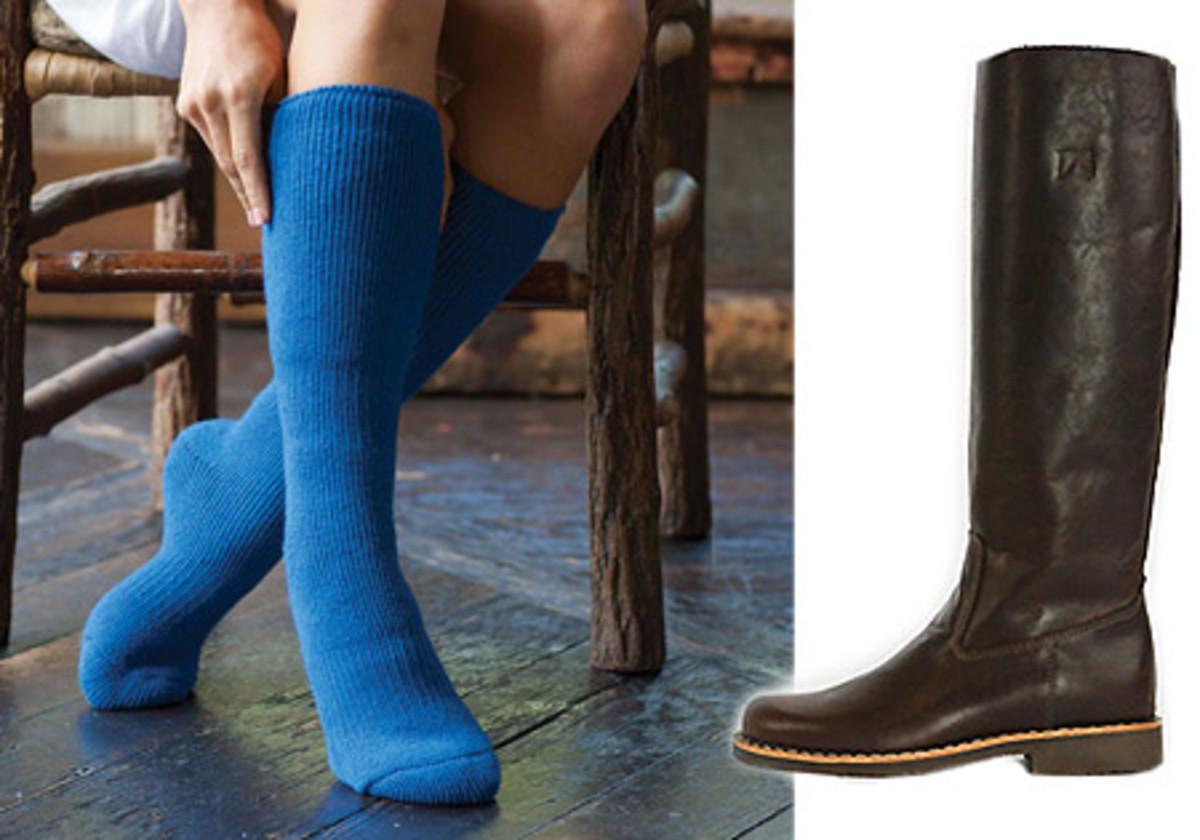Marks T-Max Heat socks_Roots Russian Vamp Tall Boots