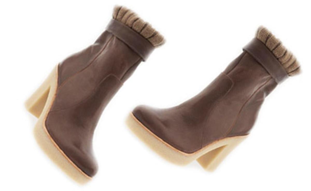Gap Sweater Cuff Boots