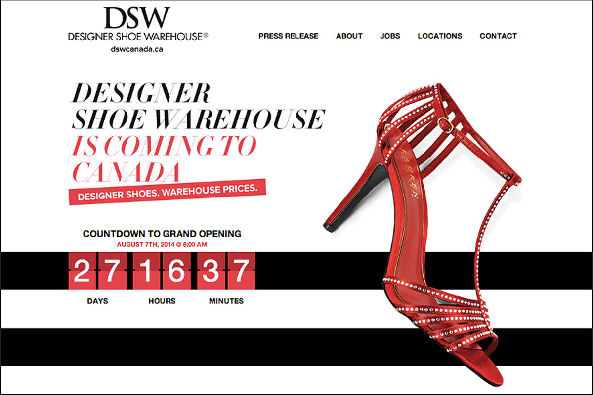 DSW shoes canada_website