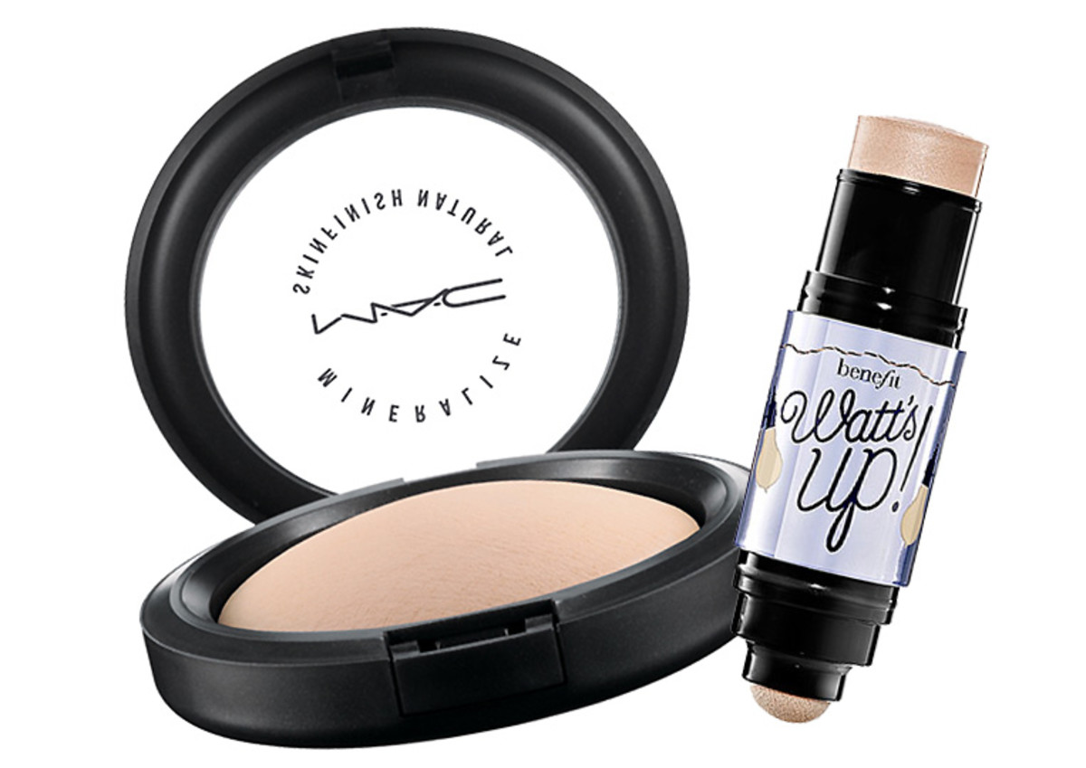 how to wear bronzer in winter_MAC Mineralize Skinfinish Natural_Benefit Cosmetics Watt's Up Luminizer