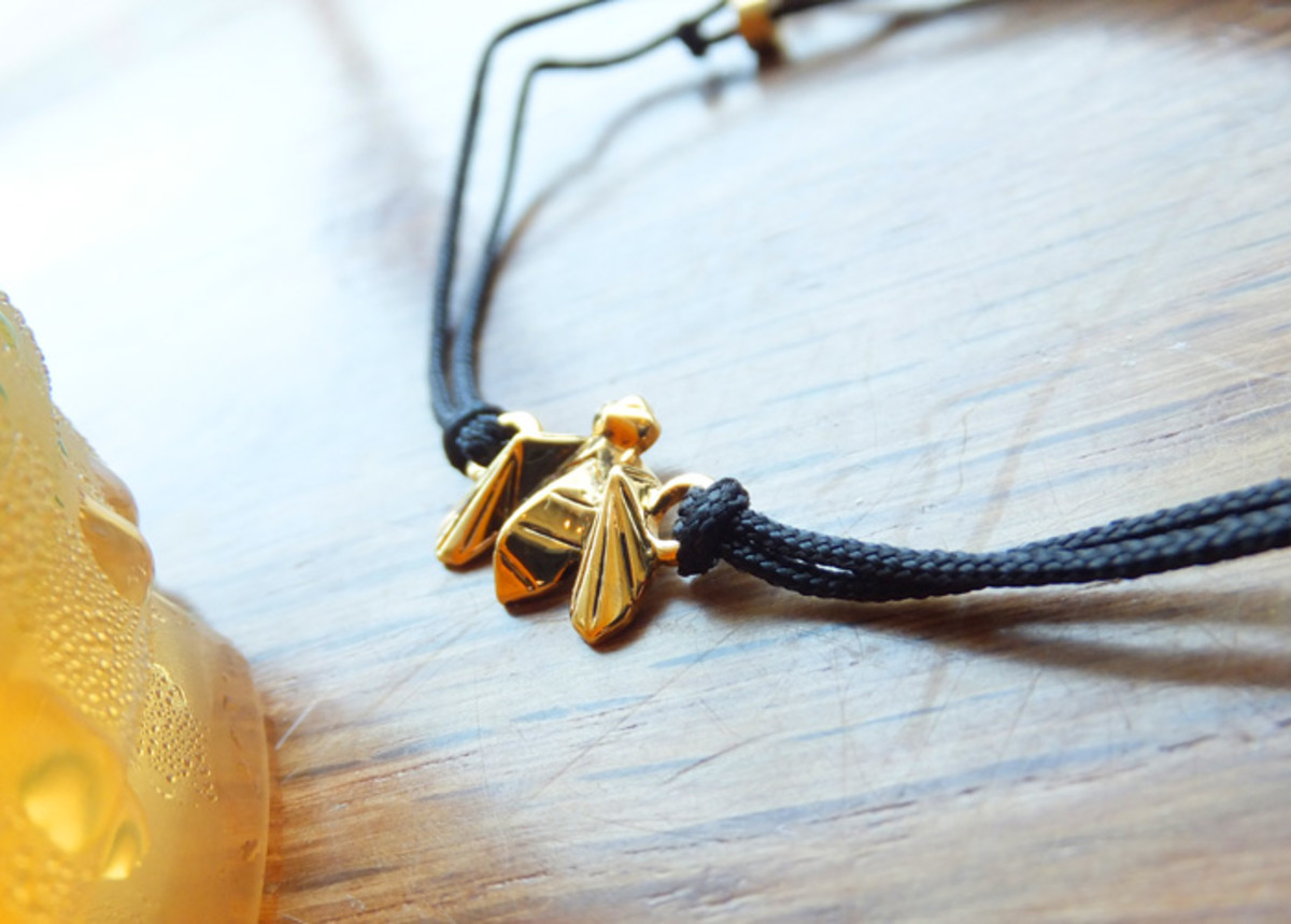 Limited-edition Jenny Bird For the Bees bracelet