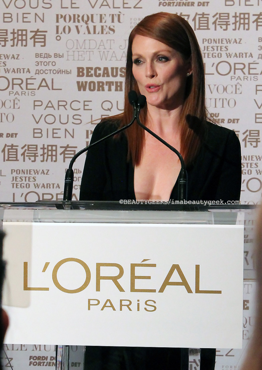 Julianne Moore at TIFF 2014_LOrealParis