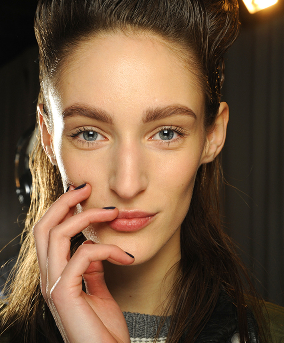 Nars Phillip Lim Crossroads nail polish model photo_FW 2014_NYFW