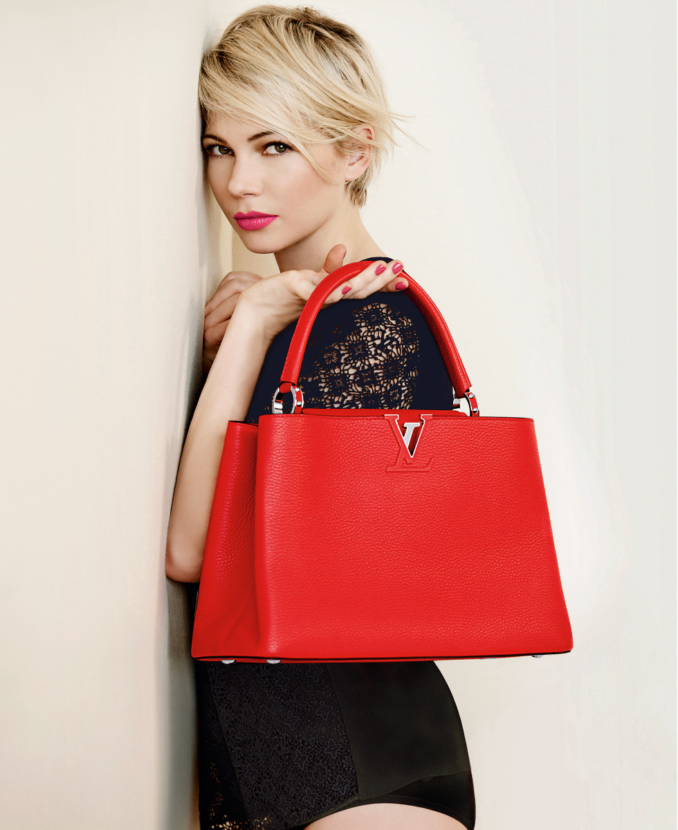 Michelle-Williams-Louis-Vuitton-Spring-2014-pink-lip