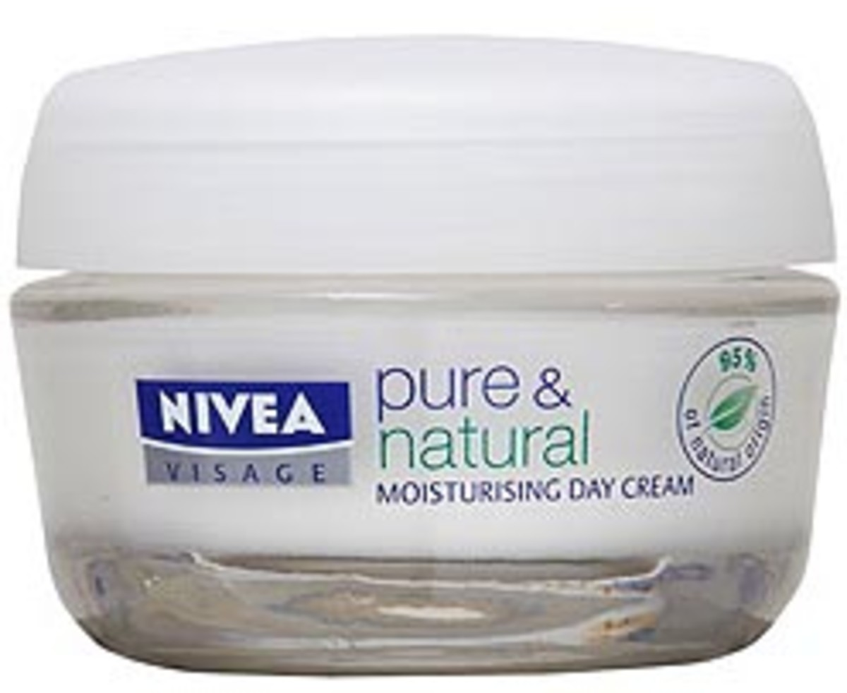 Nivea-pure-and-natural face cream