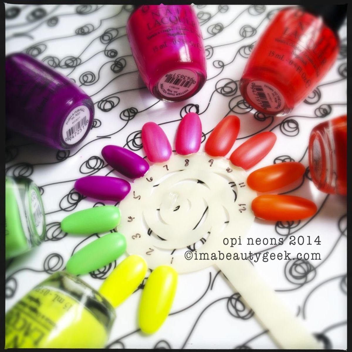OPI Neons 2014 Permanent Collection