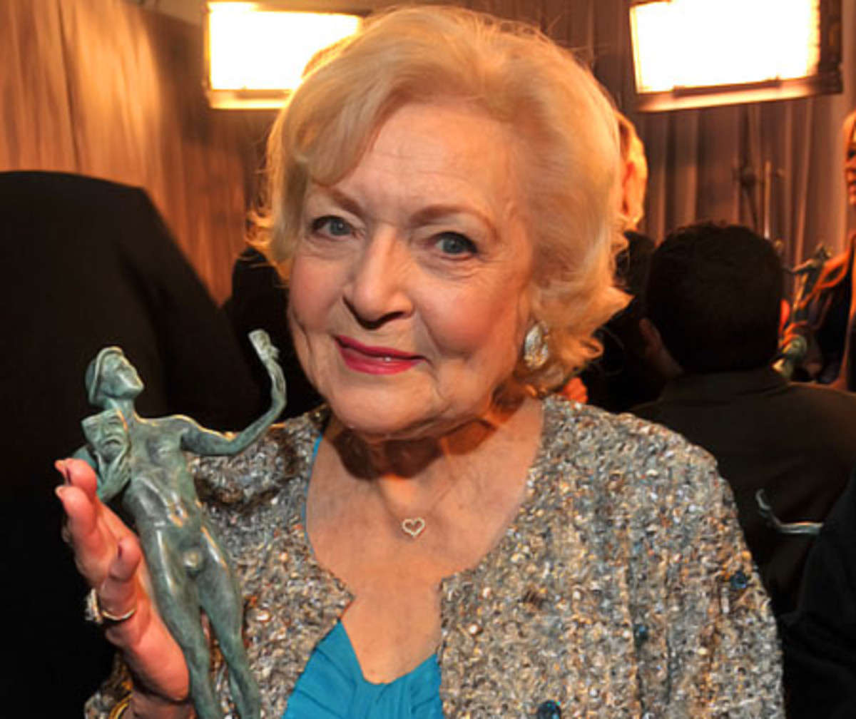 Betty White 2011 SAG Awards