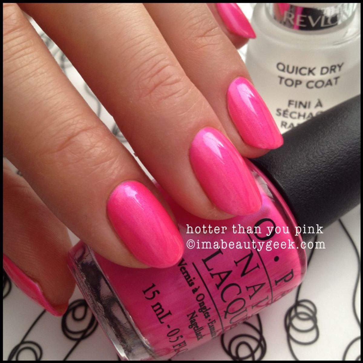 OPI Neon Hotter Than You Pink OPI Neon 2014