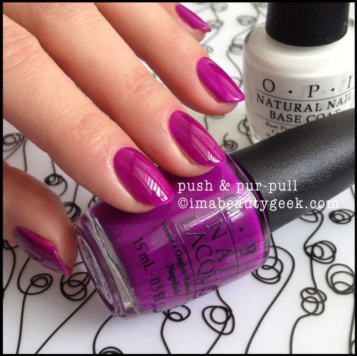 OPI Push & Pur-Pull OPI Neon 2014