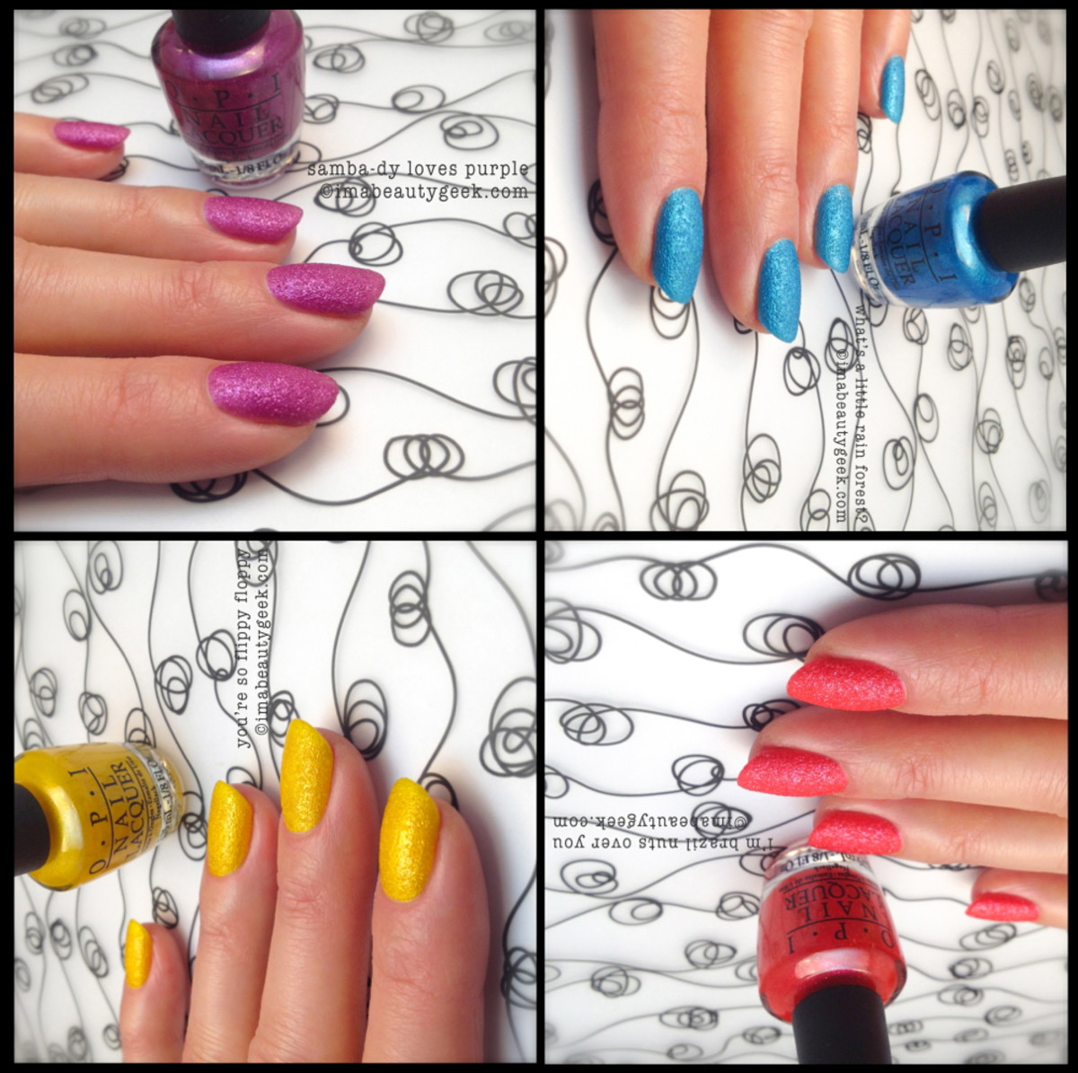OPI Brazil Beach Sandies_OPI Spring 2014