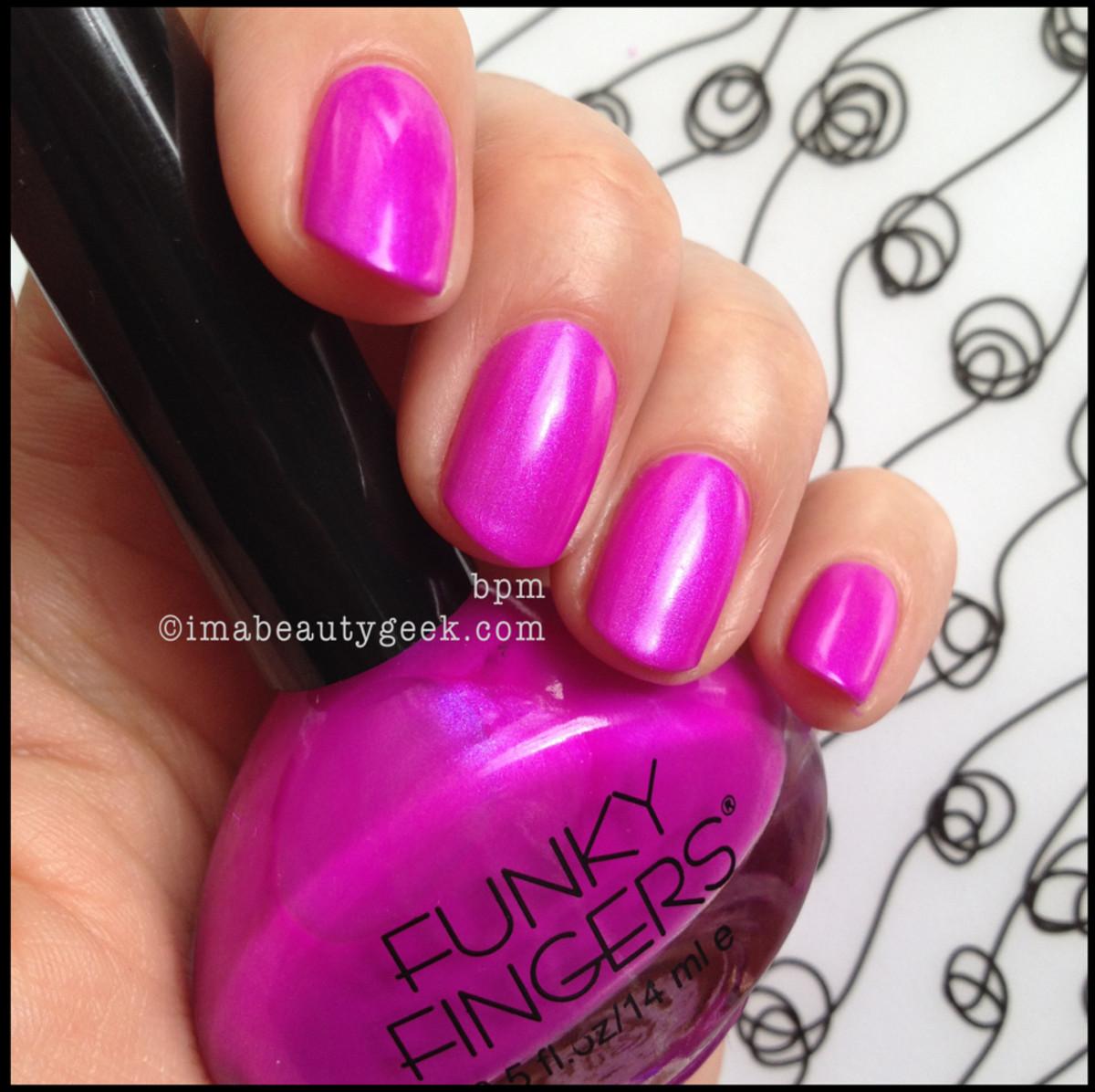 Funky Fingers BPM imabeautygeek