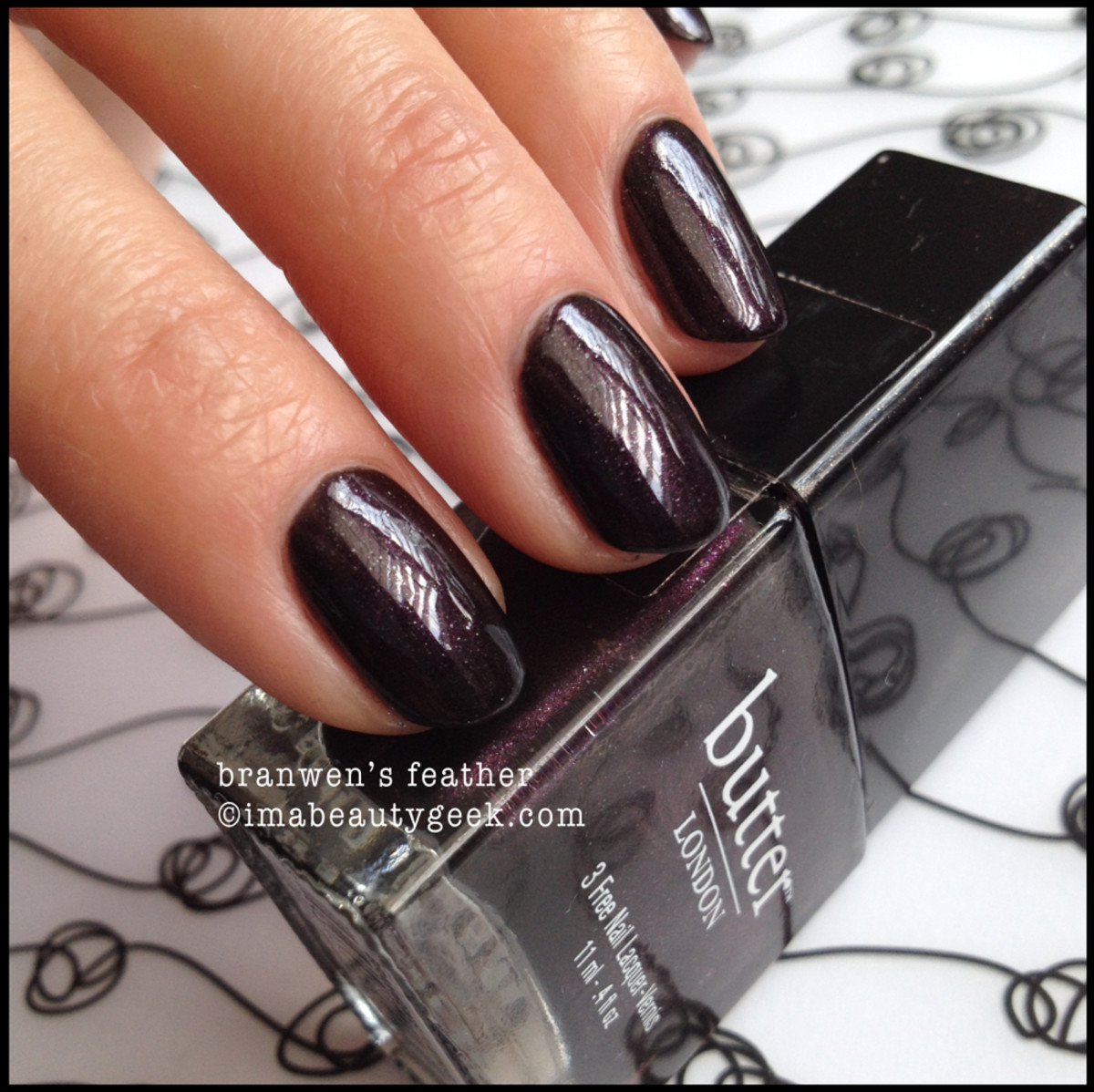 Butter London Branwen's Feather imabeautygeek