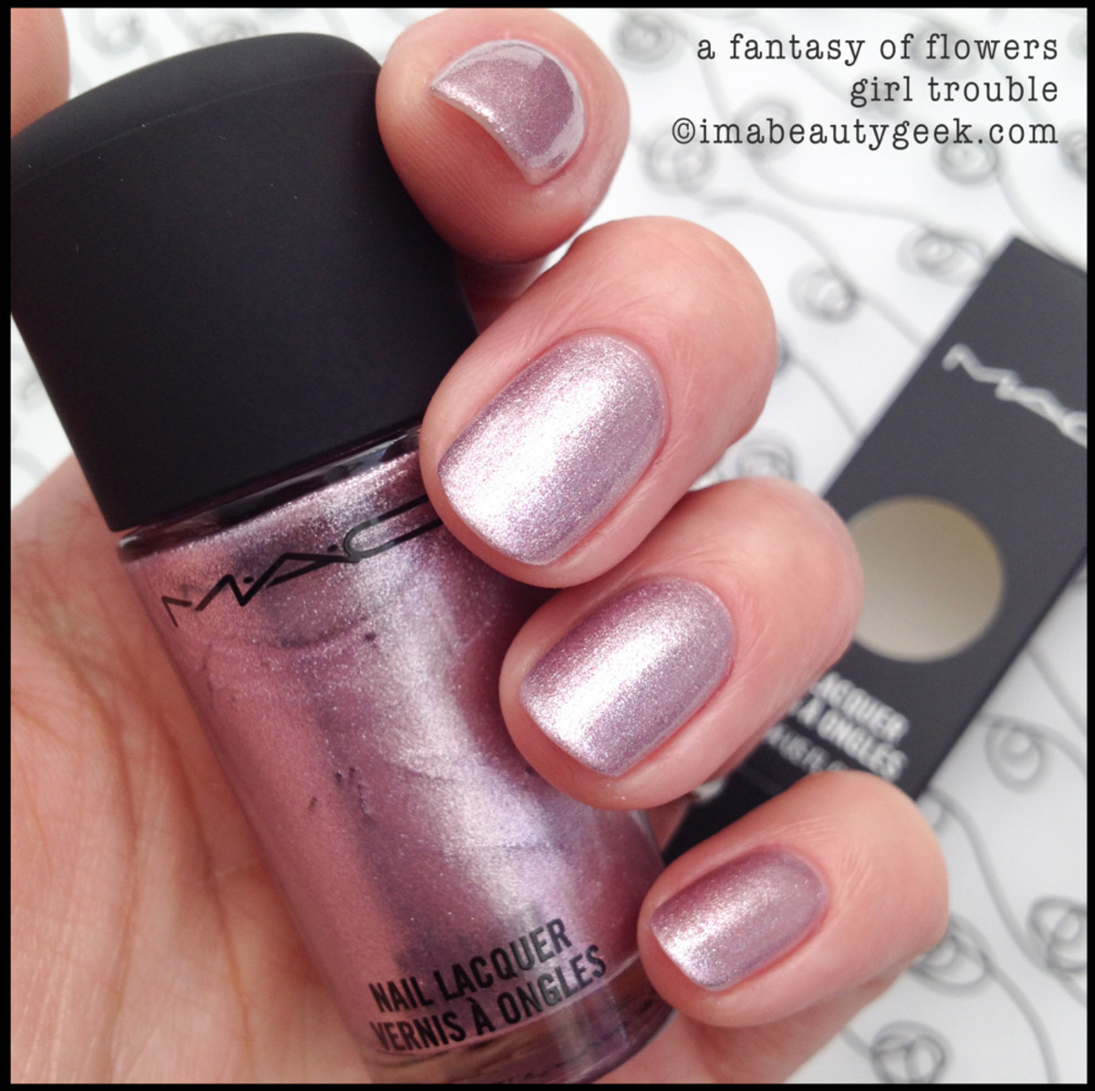 MAC Girl Trouble_MAC Fantasy of Flowers