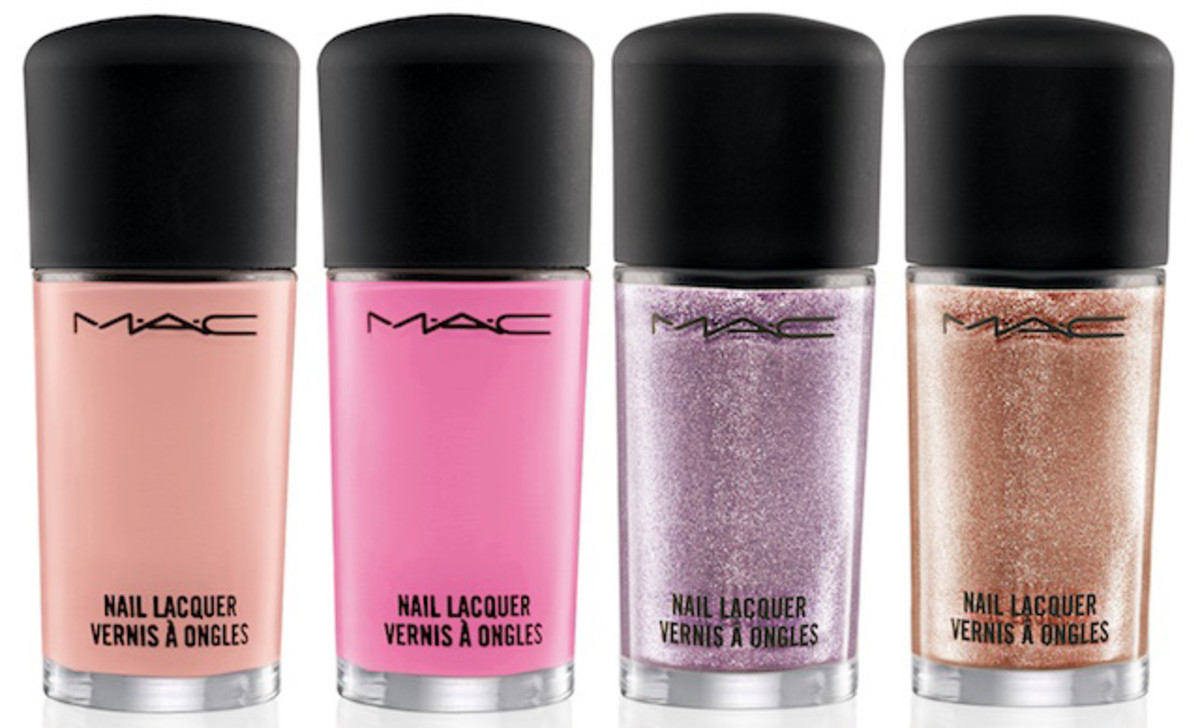 Pick a Pretty Posy: The MAC Fantasy of Flowers Nail Polish Swatches ...