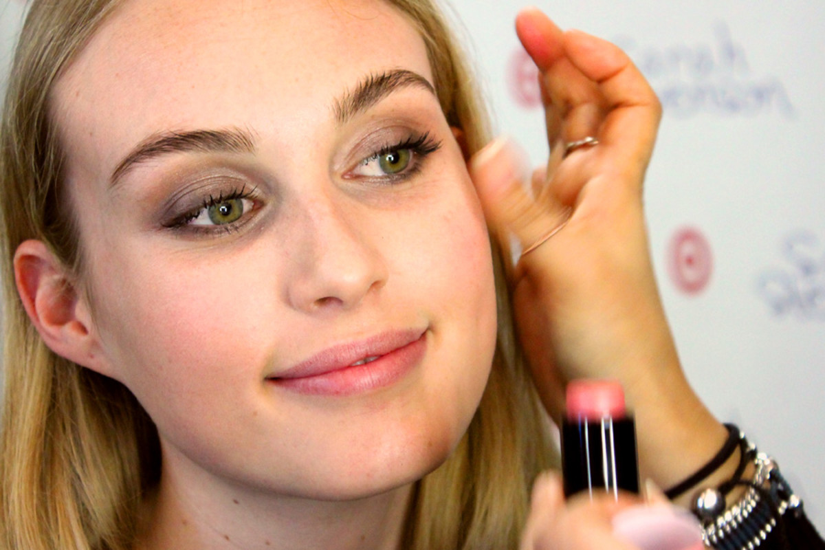 soft spring smoky eyes_blush_makeup by Grace Lee_Maybelline_Sarah Stevenson for Target