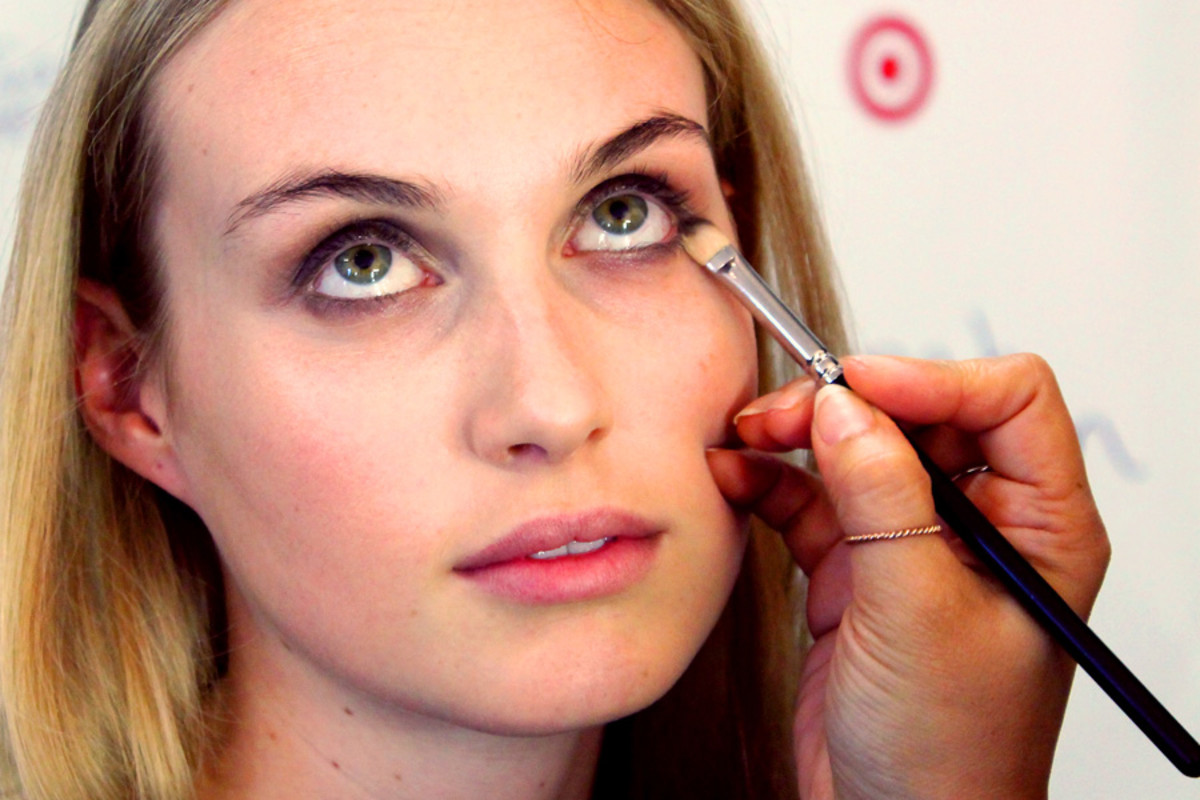 soft spring smoky eyes_define lower lashline_makeup Grace Lee_Maybelline_Sarah Stevenson for Target