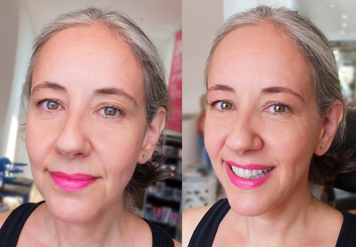 Liza Herz_brows before and after_Eye Love Brow & Beauty Bar_imabeautygeek.com