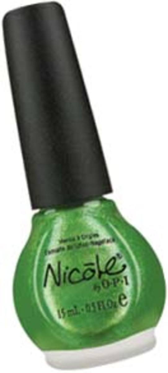 Nicole by OPI in Make Mine Lime $10.49 at drugstores and Wal-Mart