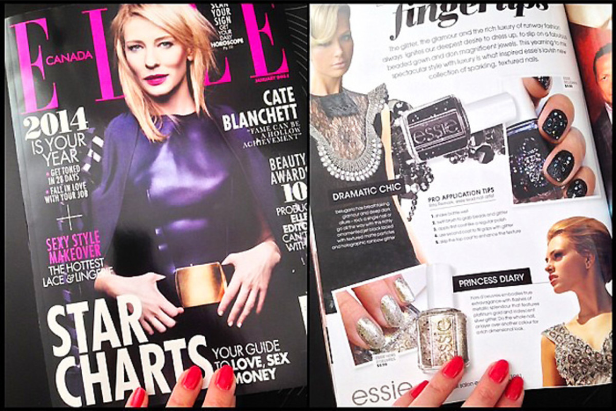 beautygeeks mani-geek in essie advertorial