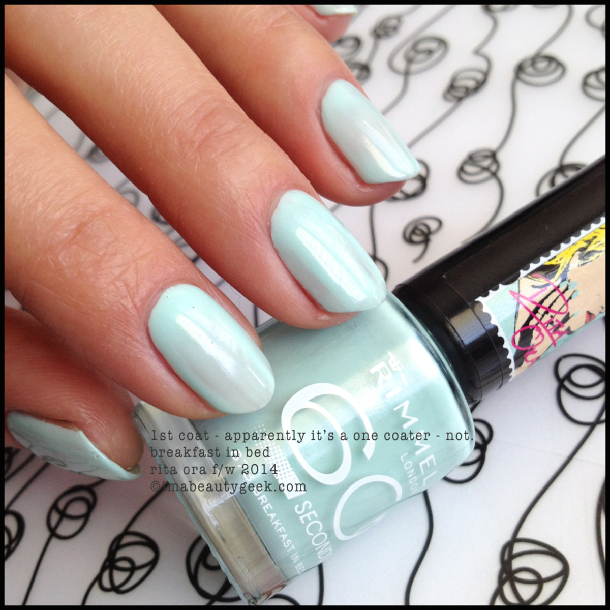 Rimmel Rita Ora 2014 Breakfast in Bed 1 coat