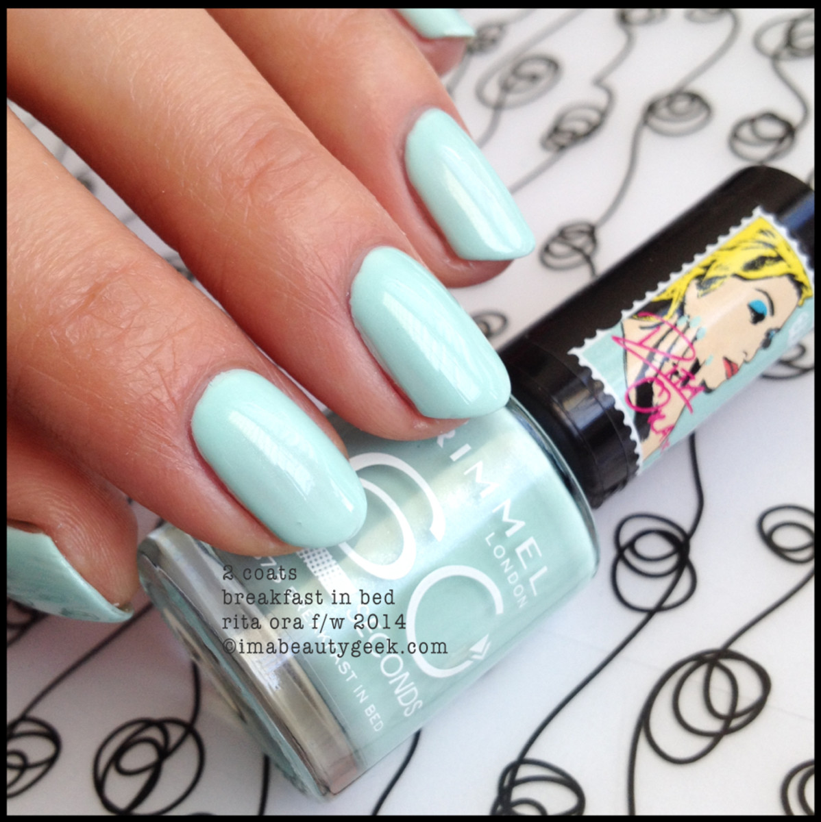 Rimmel Rita Ora 2014 Breakfast in Bed 2 coats