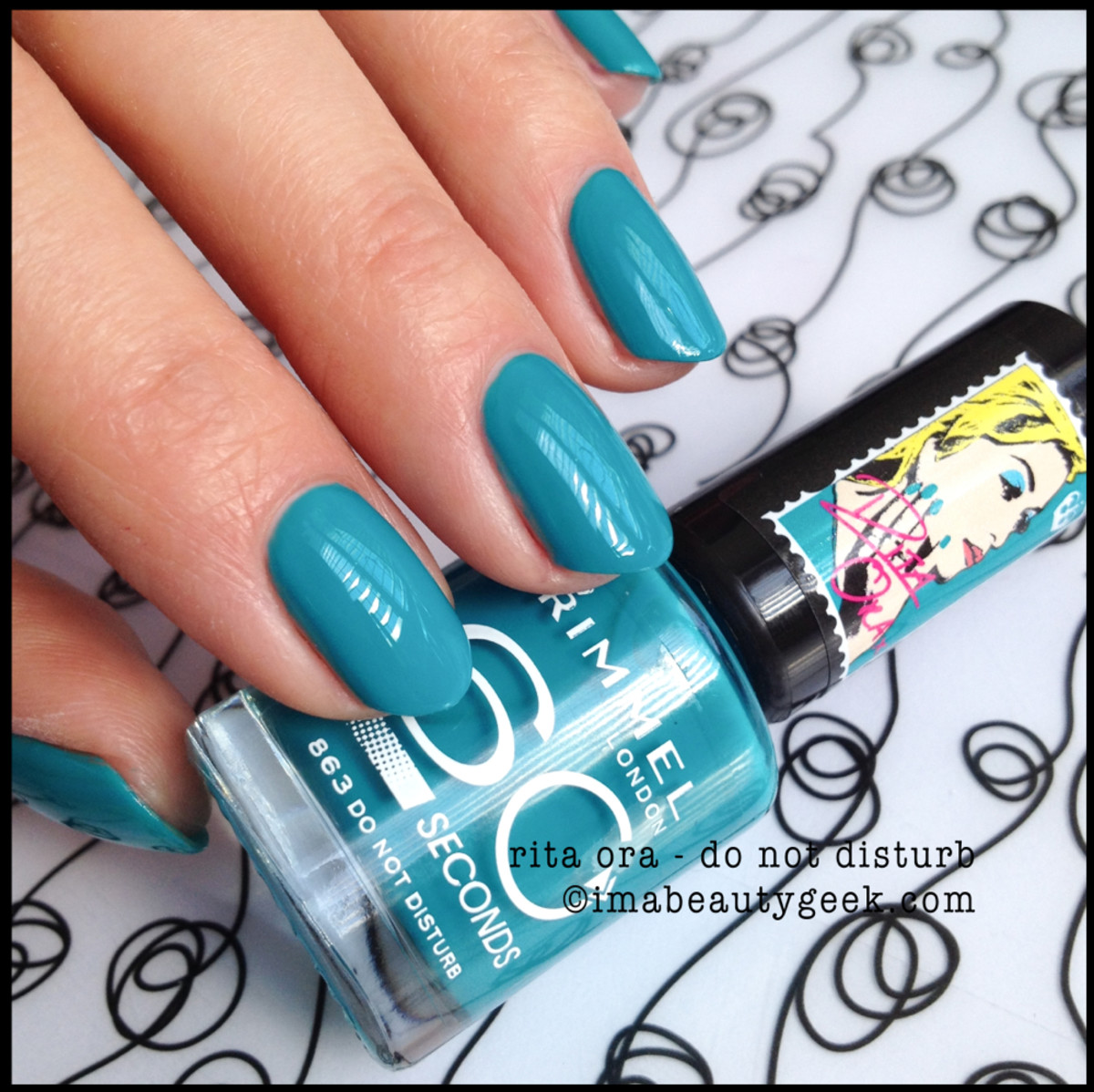 Rimmel Polish Do Not Disturb Rita Ora