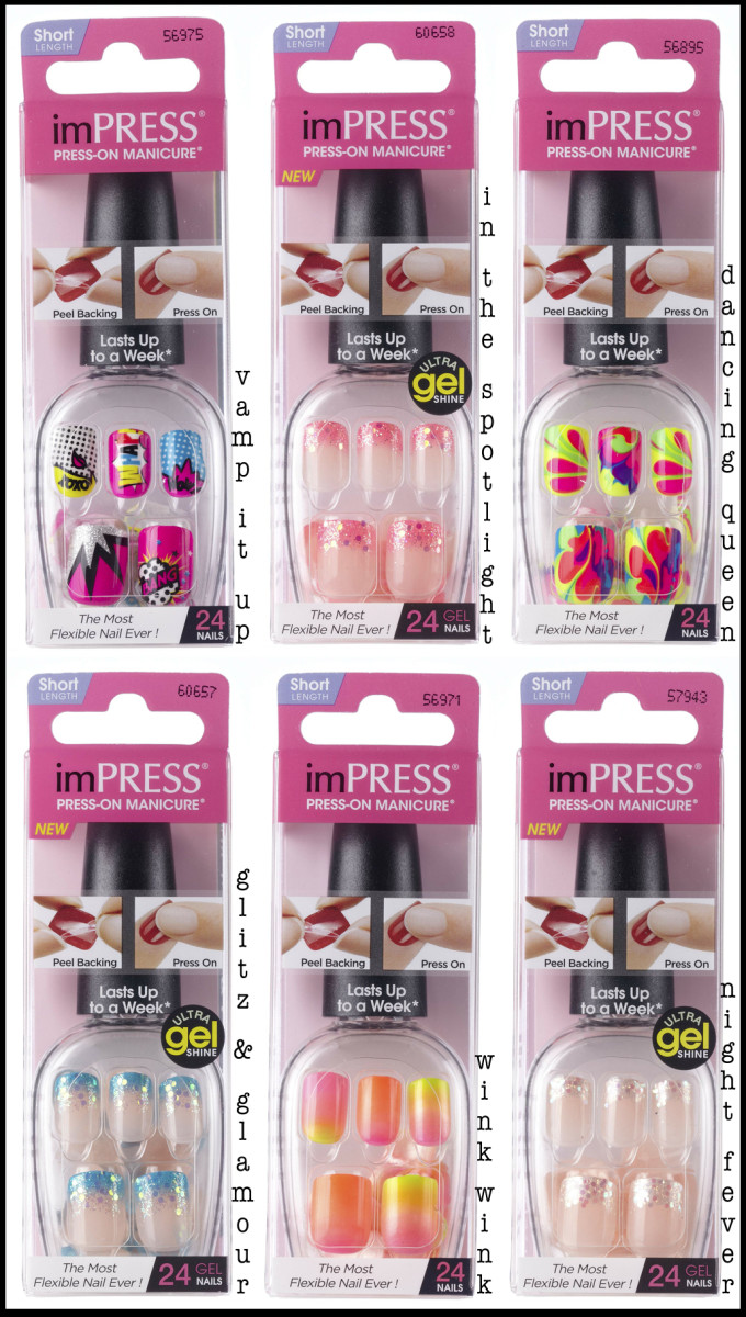 imPress nails Neons 2014