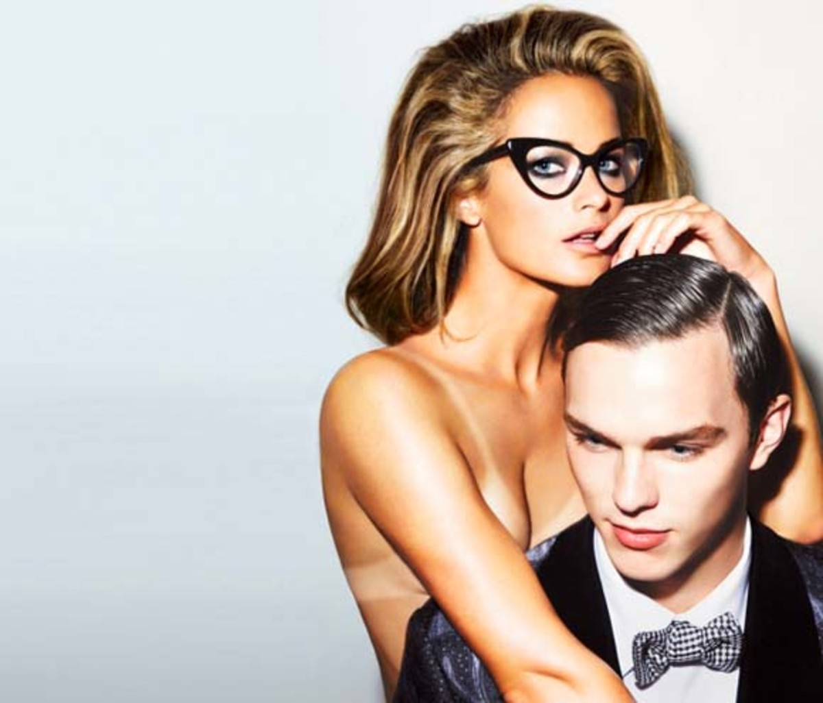 Carolyn Murphy_Nicholas Hoult_Tom Ford 2010