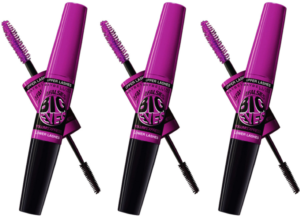 Maybelline New York Volum' Express The Falsies_Big-Eyes_dual-wand-mascara