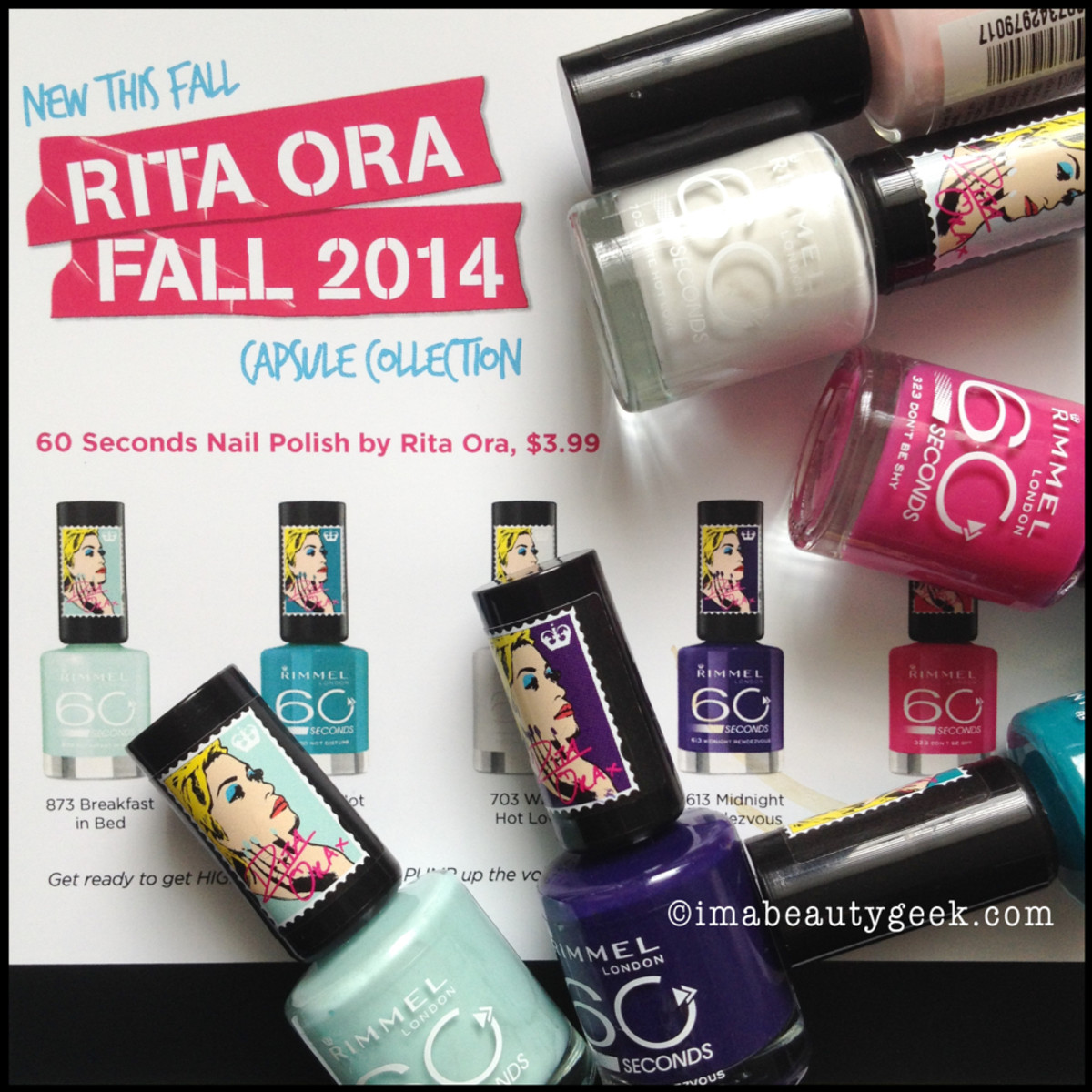 Rimmel Rita Ora fall 2014