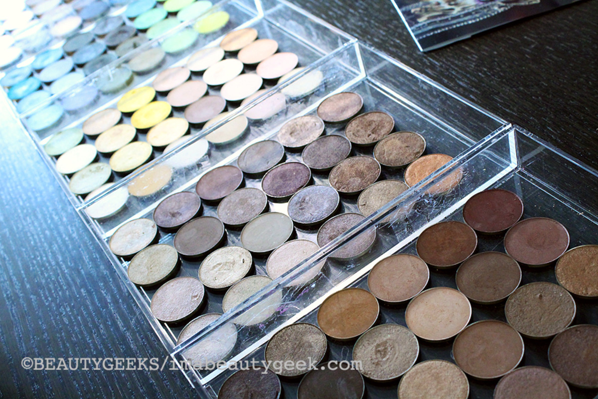 Make Up For Ever Artist Shadows_individual pans