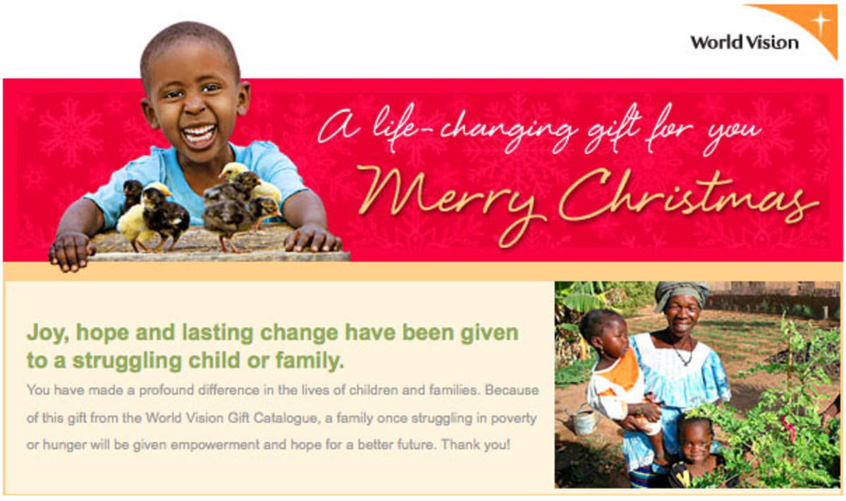 World Vision Gift A