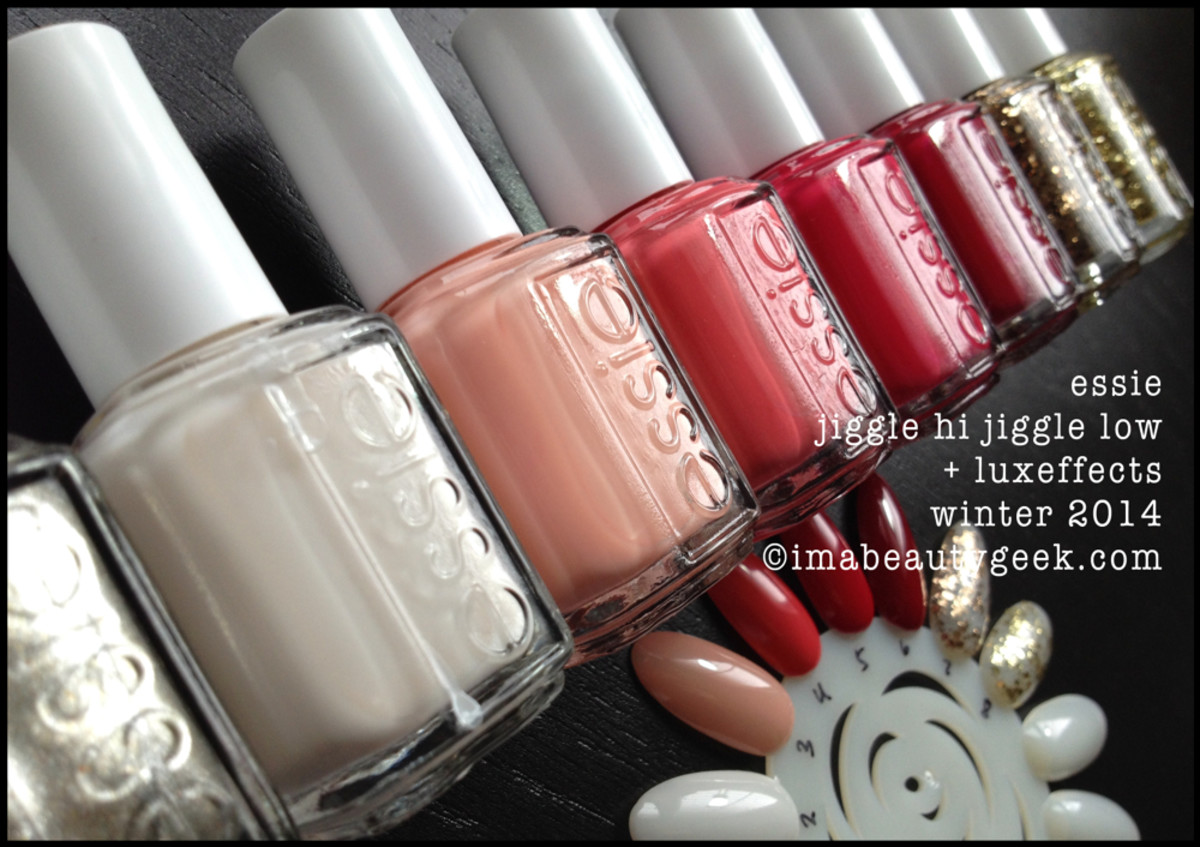 Essie Winter 2014 - Jiggle Hi Jiggle Lo Collection