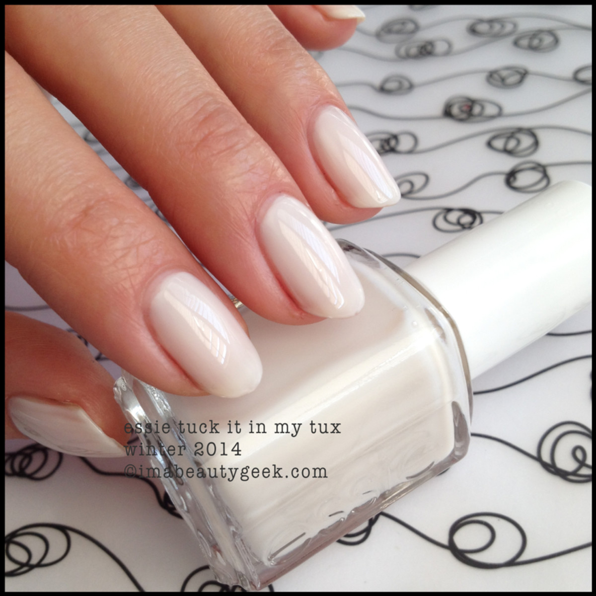 Essie Tuck it in my Tux - Essie winter 2014